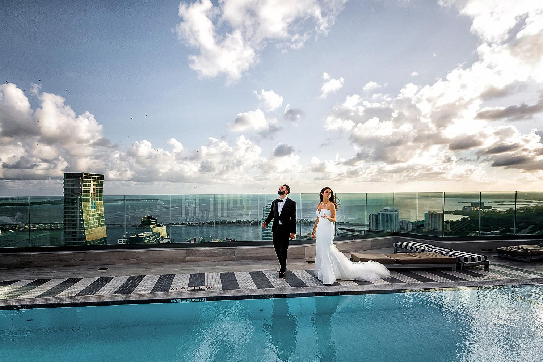 sls brickell miami wedding